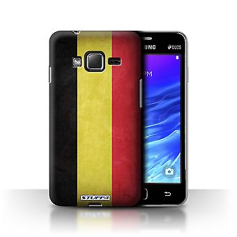 STUFF4 Case/Cover for Samsung Z1/Z130/Belgium/Flags