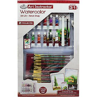 Art Instructor Watercolor Clearview Art Set-Large - 31pc RWAT3303