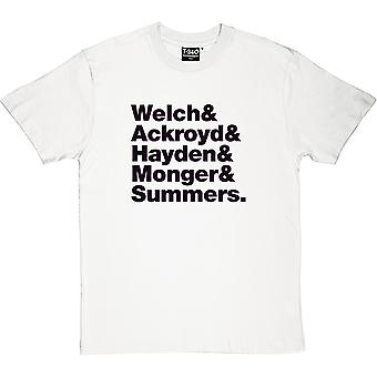 Florence & The Machine Line-Up Men's T-Shirt