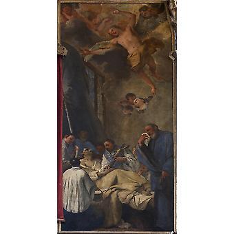 Śmierci St Lorenzo Giustiniani Poster Print