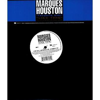 Marques Houston - ligesom denne [Vinyl] USA importerer