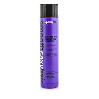 Sexy Hair begreber glat sexet hår sulfat-fri Smoothing Shampoo (anti-frizz) - 300 ml / 10.1 oz
