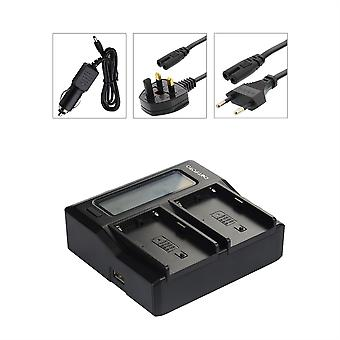 Dot.Foto Nikon EN-EL3, EN-EL3a, EN-EL3e Dual Battery Charger