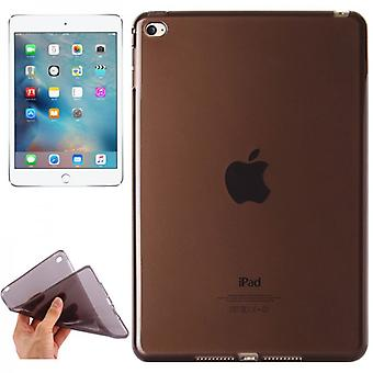 Protective cover silicone glossy series black case for Apple iPad Mini 4 7.9 inches