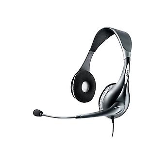 Jabra UC Voice 150 MS Duo Headset on your ear-grey