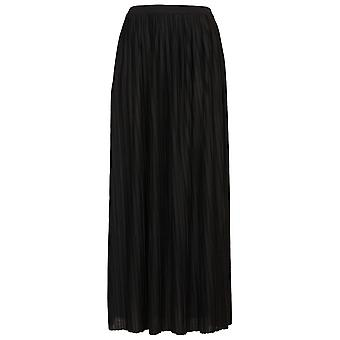 Topshop Mini Pleated Maxi Skirt