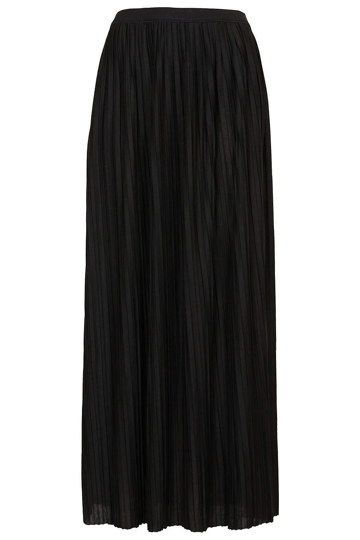 Topshop Mini Pleated Maxi Skirt