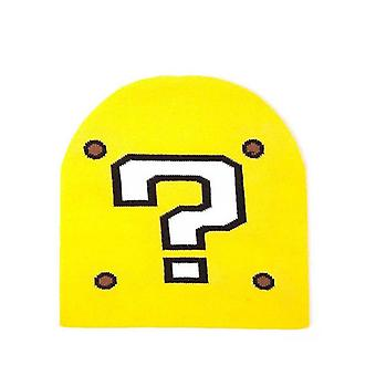 Nintendo Super Mario Question Mark Beanie Yellow (KC170203NTN)