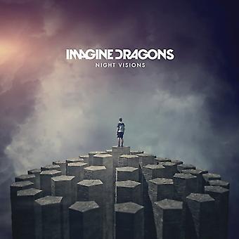 Imagine Dragons - importación de los E.e.u.u. de la visión de la noche [CD]