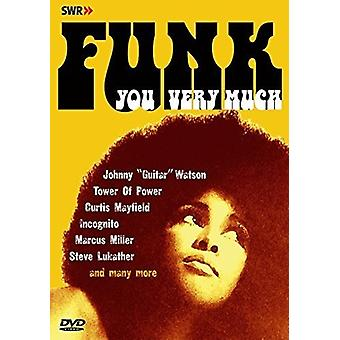 Forskellige kunstner - Funk du meget [DVD] USA import