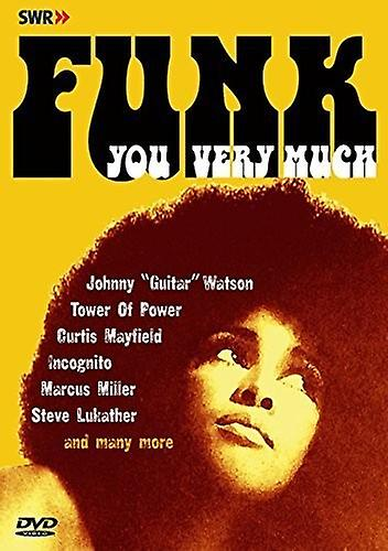 Various Artist - Funk You Very Much [DVD] USA import
