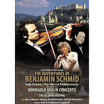 Benjamin Schmid - Tony Palmers filmen om the Adventures af Benjamin [DVD] USA import