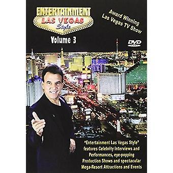 Entertainment Las Vegas stil 3 [DVD] USA importerer