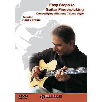 Nemme trin til Guitar Fingerpicking [DVD] USA importerer