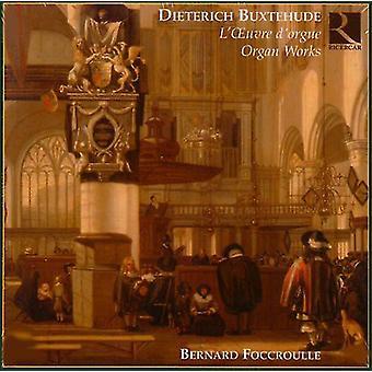 D. Buxtehude - Buxtehude: Orgelværker [CD] USA import