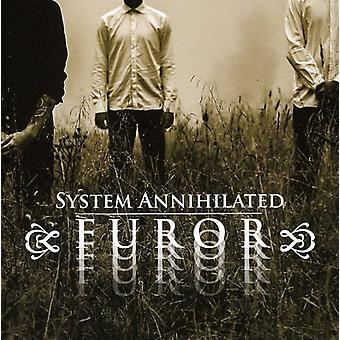 Systemet Annihilated - furore [CD] USA importerer