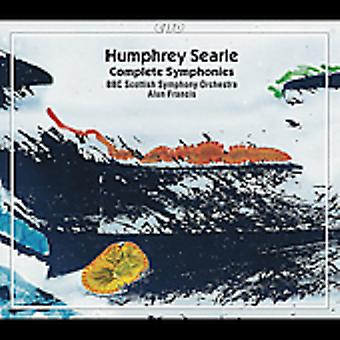 H. Searle - Humphrey Searle: Complete Symphonies [CD] USA import
