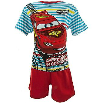 Boys Disney Cars McQueen Shortie Pyjamas OE2021