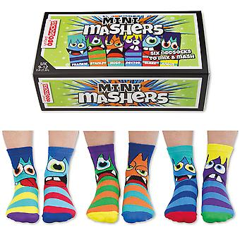 United Oddsocks Mini Mashers Sock Gift Set For Little People