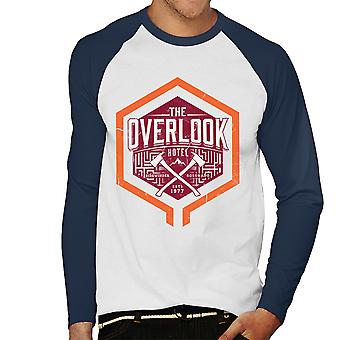 The Overlook Hotel The Shining Men's Baseball Long Sleeved T-Shirt