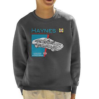 Haynes Owners Workshop Manual 0904 Ford Sierra V6 4 X 4 Kid's Sweatshirt