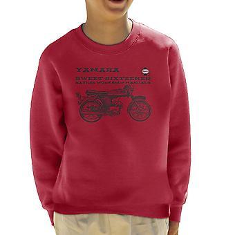 Haynes Besitzer Workshop manuelle Yamaha Sixteener spezielle Kinder Sweatshirt