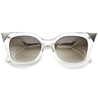 Womens Cat Eye lunettes de soleil UV400 protection lentille Composite