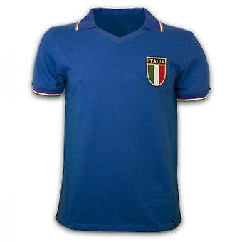 Italy WC 1982 Short Sleeve Retro Shirt 100% cotton