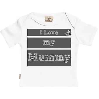 Spoilt Rotten I Love My Mummy Short Sleeve Baby T-Shirt