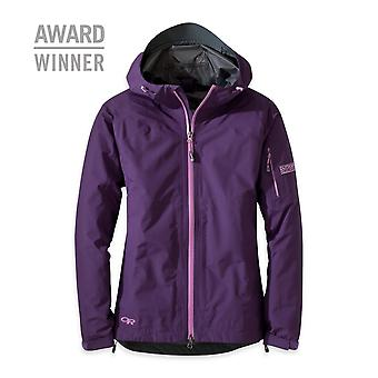 Outdoor Research Womens Aspire Jacket Elderberry (Large GORE-TEX)