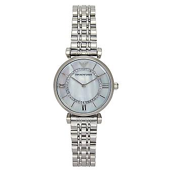 Armani Watches Ar1908 Silver Stainless Steel Ladies Watch
