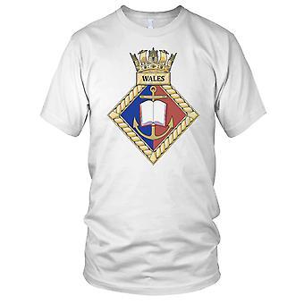 Royal Navy HMS Galles Mens T-Shirt