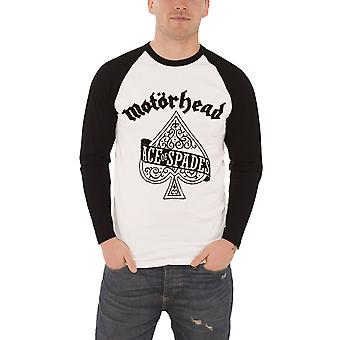 Motorhead T Shirt Mens Ace Of Spades band Logo new Official Baseball Shirt