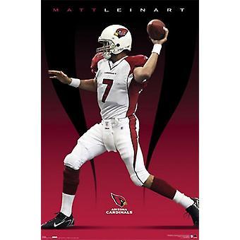 Arizona Cardinals- Matt Leinart Poster Poster Print