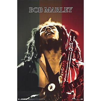 Bob Marley - Rasta Stage Poster Poster Print