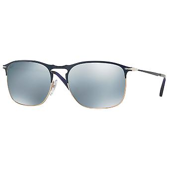 Persol 7359S Large blue/Bronze Green sparkled silver