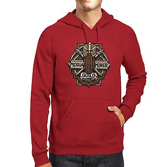 Lord Of The Rings Moria Miner Guild Men's Hooded Sweatshirt