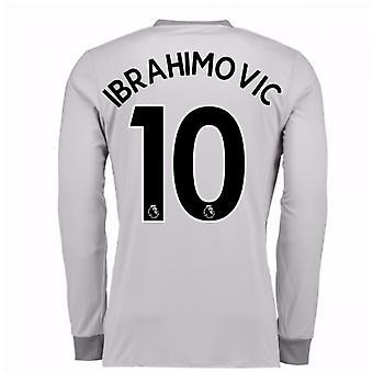 20Ibrahimovic 107-20Ibrahimovic 108 Man United langermet tredje skjorte (Ibrahimovic 10)