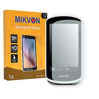 Garmin Edge 1030 Screen Protector - Mikvon flexible Tempered Glass 9H (Retail Package with accessories)