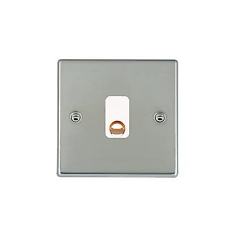 Hamilton Litestat Hartland Bright Stainless Chrome 20A Cable Outlet WH