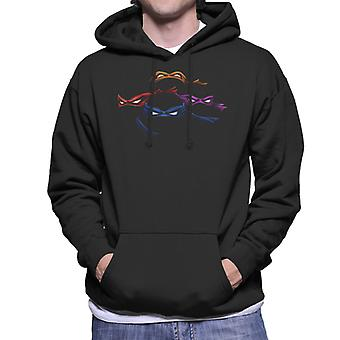 Impractical Ninja Masks Teenage Mutant Ninja Turtles Men's Hooded Sweatshirt