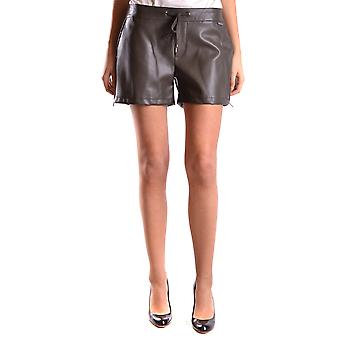 Twin-Set Damen MCBI302187O Grün Polyurethan Shorts