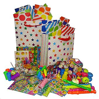 Pre Filled Party Bag 1.65 each - Unisex - Packed in a Gift Bag Set of either 6, 12, 18, 24 or 30 Guest Options - 18 Party Bags