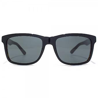 Polo Ralph Lauren Retro Style Sunglasses In Black On Tortoise