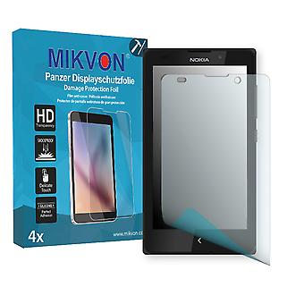 Nokia XL Screen Protector - Mikvon Armor Screen Protector (Retail Package with accessories)