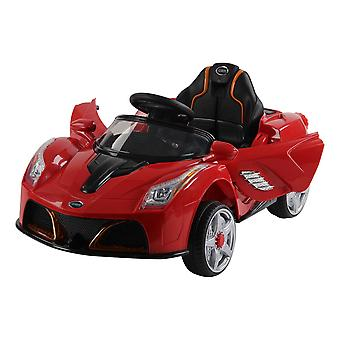 Homcom Children Kids Electric Ride on Car Battery Operated Toy Car w/ Remote Control (Red)