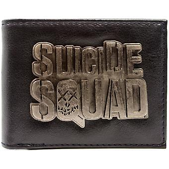 DC Comics Suicide Squad Movie Emblem ID & Card Bi-Fold Wallet