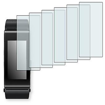 Huawei talk band B2 display protector - Golebo crystal-clear protector (deliberately smaller than the display, as this is arched)