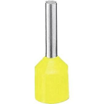 Ferrule 1 x 6 mm² x 12 mm Partially insulated Yellow Phoenix Con