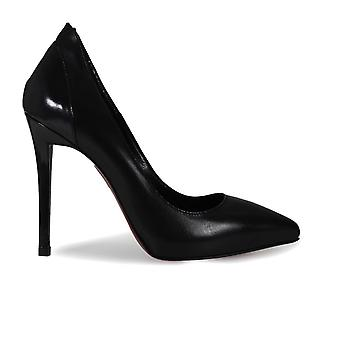 Franco Colli FC851BLACK ladies black leather pumps